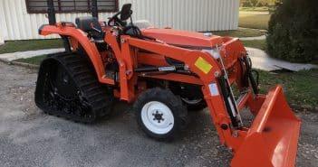 micro tracteur à chenilles