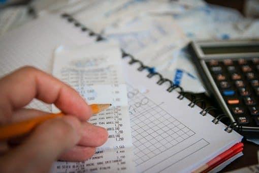 Argent, Factures, Calculatrice, Sauver
