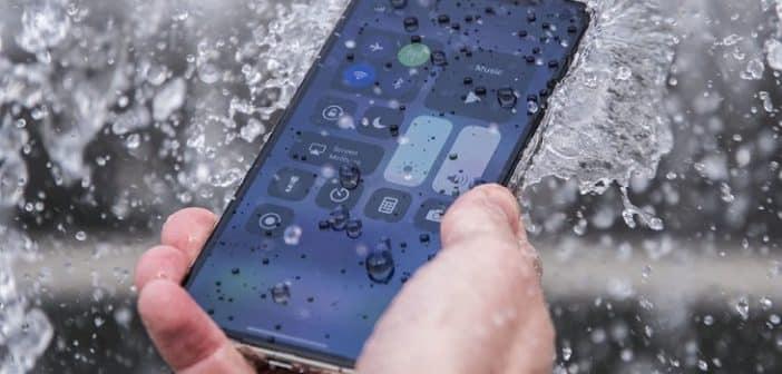 Réparation d'iPhone tombé dans l'eau