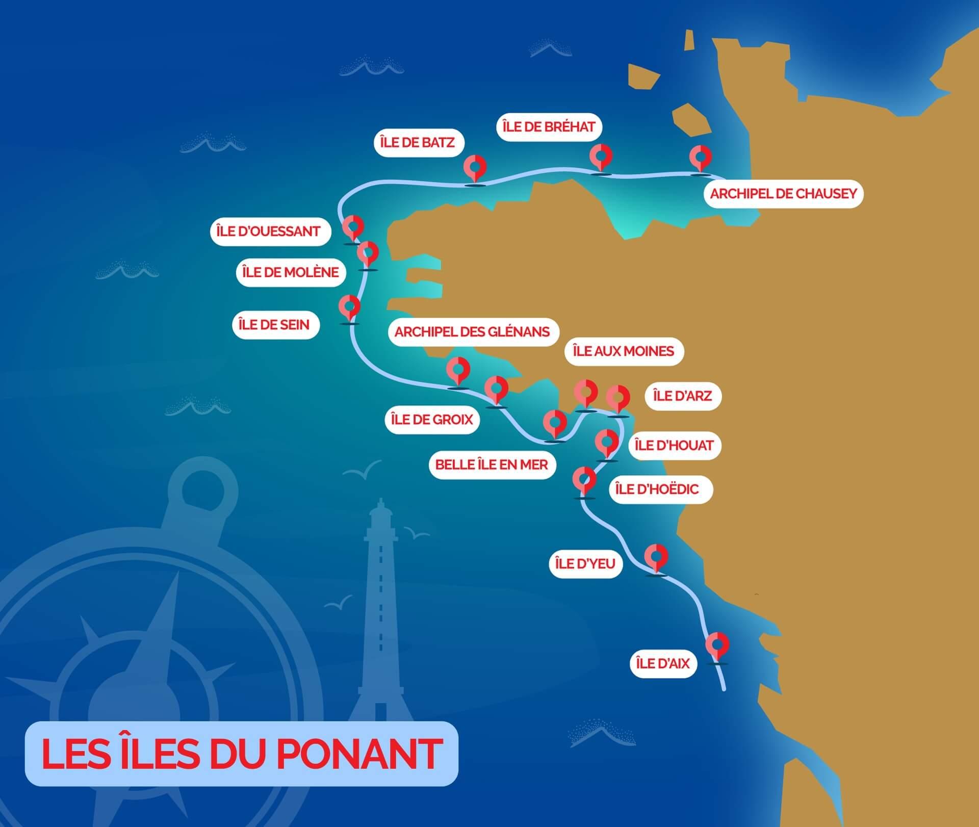 Comment se déplacer sur l'île de Batz ?